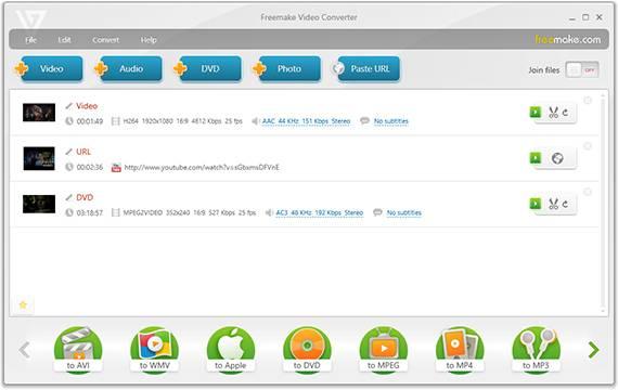 FREE Video Converter by Freemake