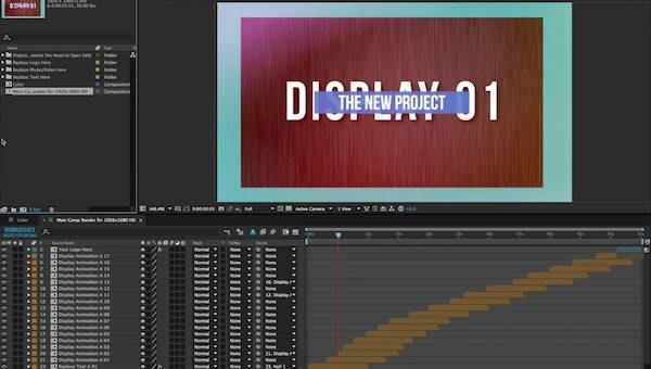 After Effects テンプレートで素敵な動画を作る方法!【前半】