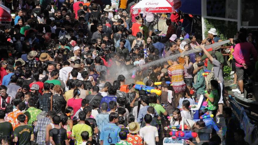 The Grandeur of the Songkran Festival