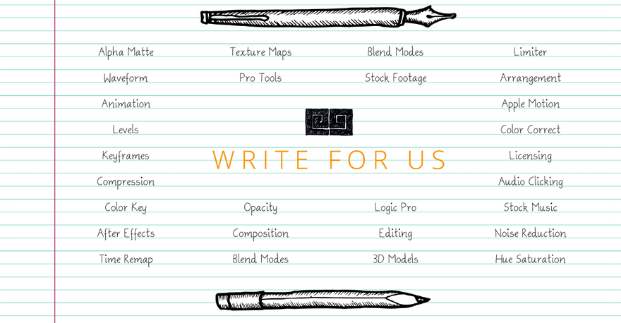 Write for Us | MotionElements
