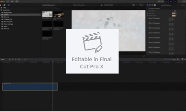 「可於 Final Cut Pro X 編輯」新標籤